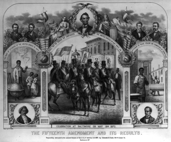 Black History Month Fifteenth Amendment Public Domain