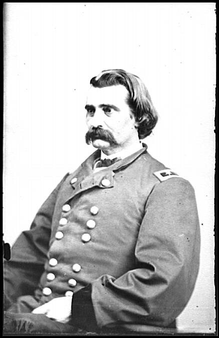Maj. Gen. John A. Logan, Union Army, inventor of Memorial Day; Library of Congress photo, Brady National Photographic Art Gallery, between 1860 and 1865