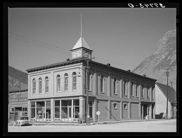 Miners union hall. Silverton, Colorado.  September 1940