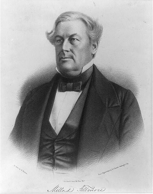 Millard Fillmore, Library of Congress Prints and Photographs Collection - Duval image