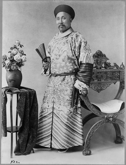 Wu-Ting-Fang - Chinese minister.  December 6, 1900