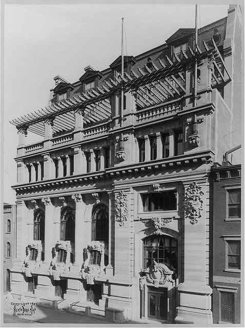 Exterior facade (1901)
