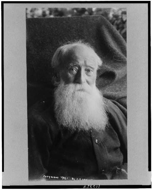 Facing the mystery. The last photographs of John Burroughs.  c. 1921
