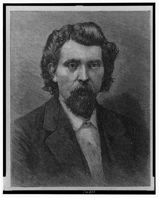 Martin Irons, of St. Louis, Chairman Executive Committee of the Knights of Labor, District No. 101 / photographed by R.G. Gardner, Kansas City, Missouri.  Illus. in: Harpers weekly, v. 30, no. 1529 (1886 April 10)
