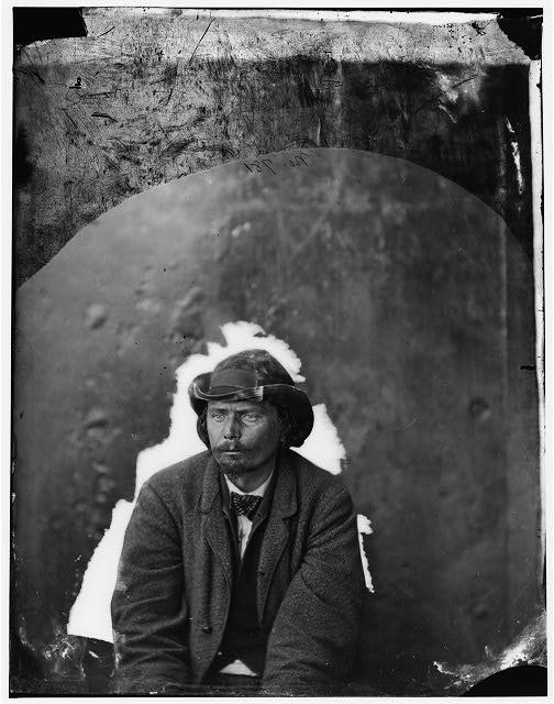 Washington Navy Yard, D.C. George A. Atzerodt, a conspirator.  April 1865.  Alexander Gardner, photographer.