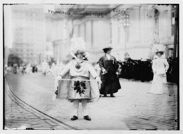 Mummers, New Years Day, Philadelphia, PA.  (January 1, 1909)