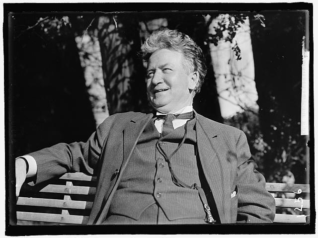 Robert M. LaFollette (R), Representative from Wisconsin, 1885-1891; Governor, 1901-1906; Senator, 1906-1925.  (Circa 1912)