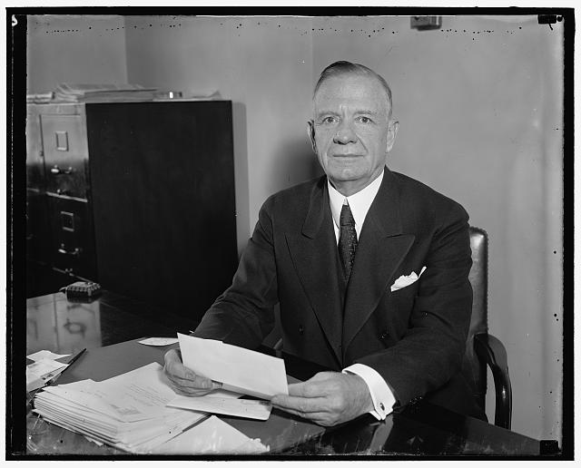 Cong. Henry B. Steagall, Chairman House Banking Currency (between 1936 and 1937)