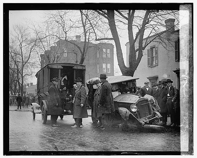 Bootleggers wreck (January 21, 1922)