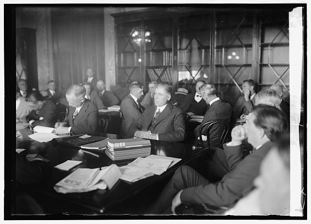 Frank N. Sheppard of Natl Bankers Assn. before Borah Slush Fund Committee, October 22, 1924