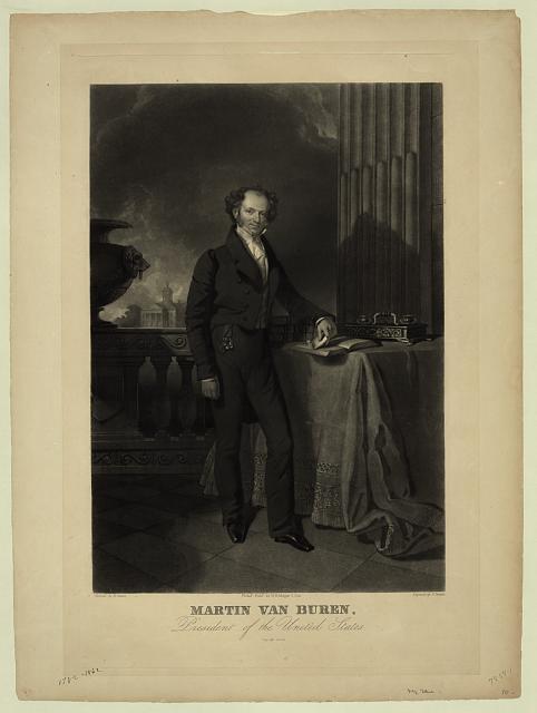 Martin Van Buren, Eighth President of the United States (1837 - 1841)