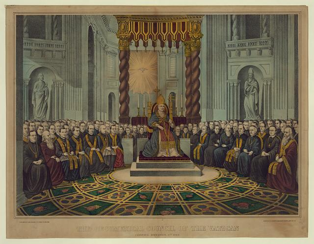 The oecumenical council of the Vatican, convened December 8th 1869