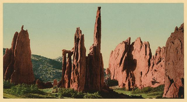 Cathedral Spires - Garden of the Gods, Colorado