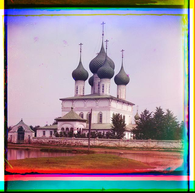 (Summer) Church of the Fedorov Mother of God. Yaroslavl.  (1911)