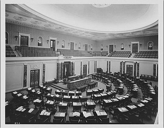 Republican minority filibustering Democratic majority