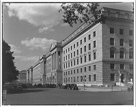 Department of Commerce, 15th and Constitution Avenue, Washington DC