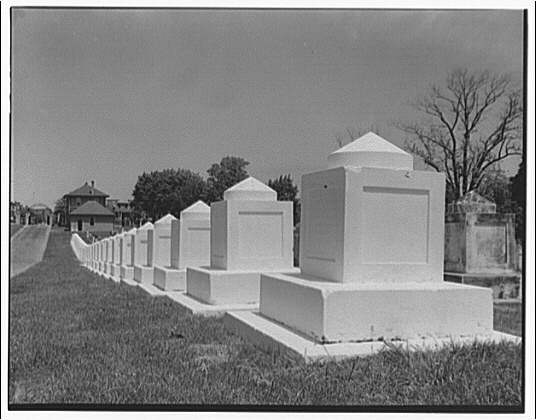 Senators in Congressional Cemetery (Library of Congress)