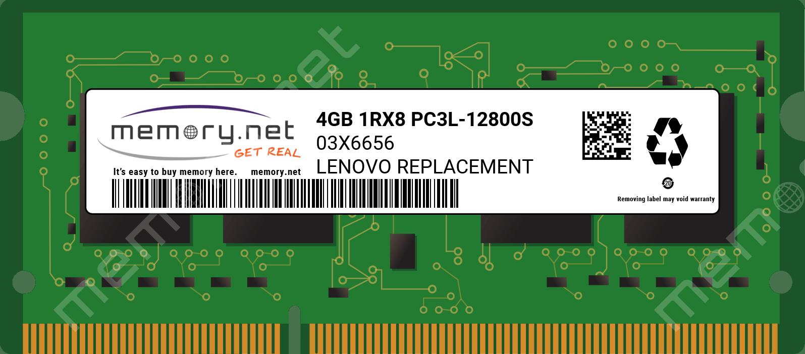 NEW 4GB Memory Module PC3-12800 SODIMM For Lenovo C260