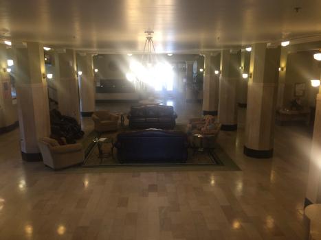 aldridge hotel lobby