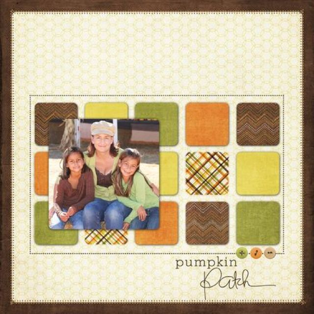 Don't Be Afraid Of White Space Halloween Layout Ideas Scrapbooking