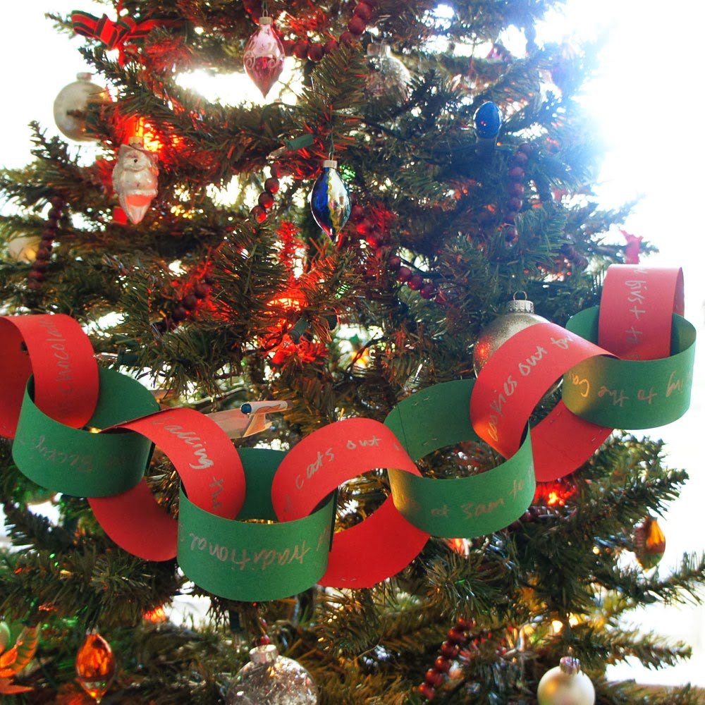 christmas paper chains activities