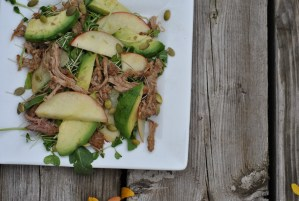 Turkey Apple Avocado Salad