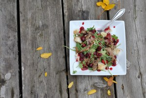 Deconstructed Turkey Dinner Salad