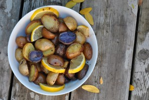Lemon Balsamic Potatoes