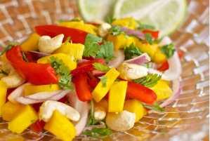 Mango Cashew Salad