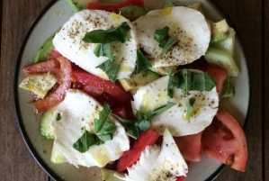 Natural Caprese Salad