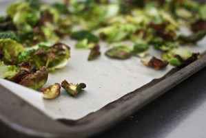 Sweet 'n Salty Brussel Sprout Chips