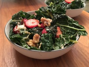 Warming Kale Salad