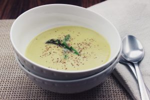 Coconut Cream Asparagus Soup