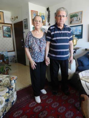(Cernivci) Zvi Harry Likwornik with wife.
