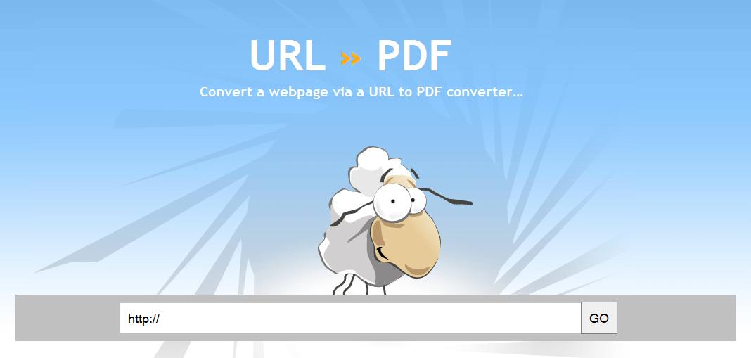 free url to pdf converter