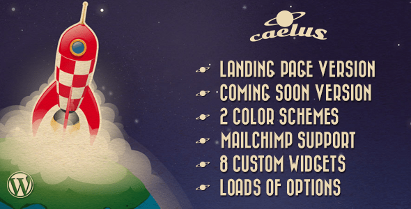 caelus wordpress theme
