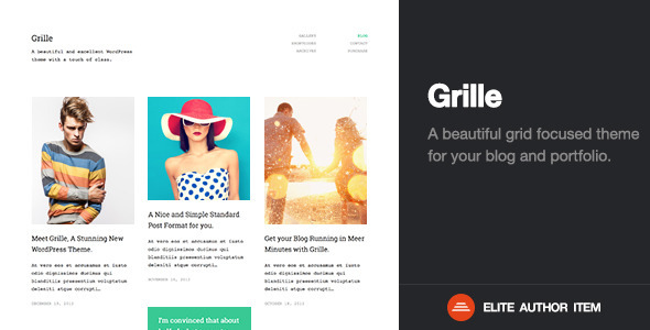 grille wordpress theme