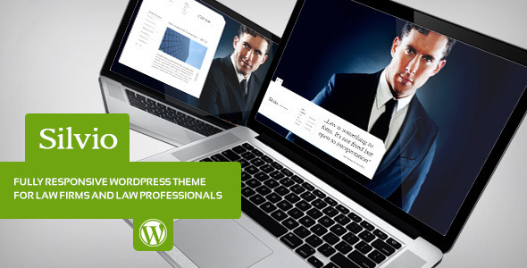 silvio wordpress theme