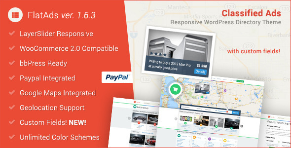 flatads wordpress theme