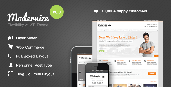 modernize-wordpress-theme