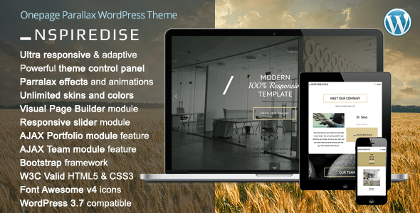 nspiredise-parallax-wordpress-theme