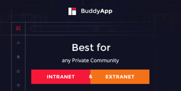 buddy app social wordpress template