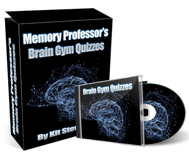 The Memory Professor System  Image of Brain Gym Cover box cd