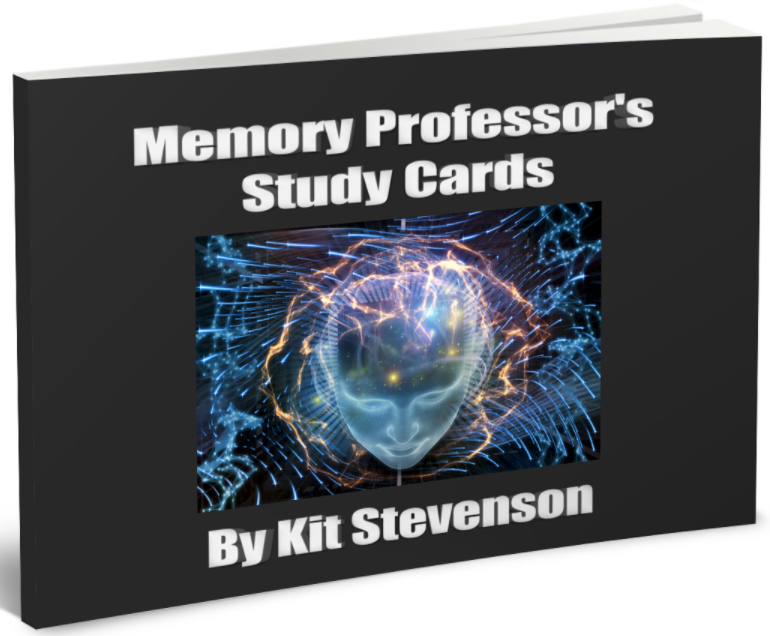 The Memory Professor System  Image of New study cards futuristic