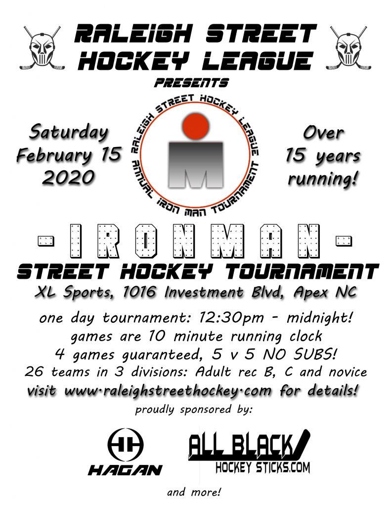 RSHL Iron Man Tournament