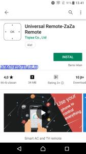 Aplikasi Remote TV Tabung di Smartphone Android 1