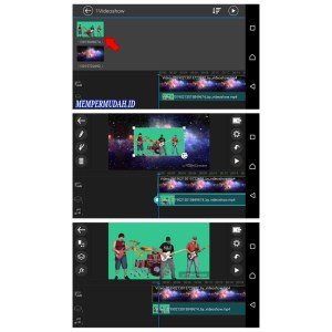 Cara Merekam Video Dengan Kamera Green Screen HP Android 5