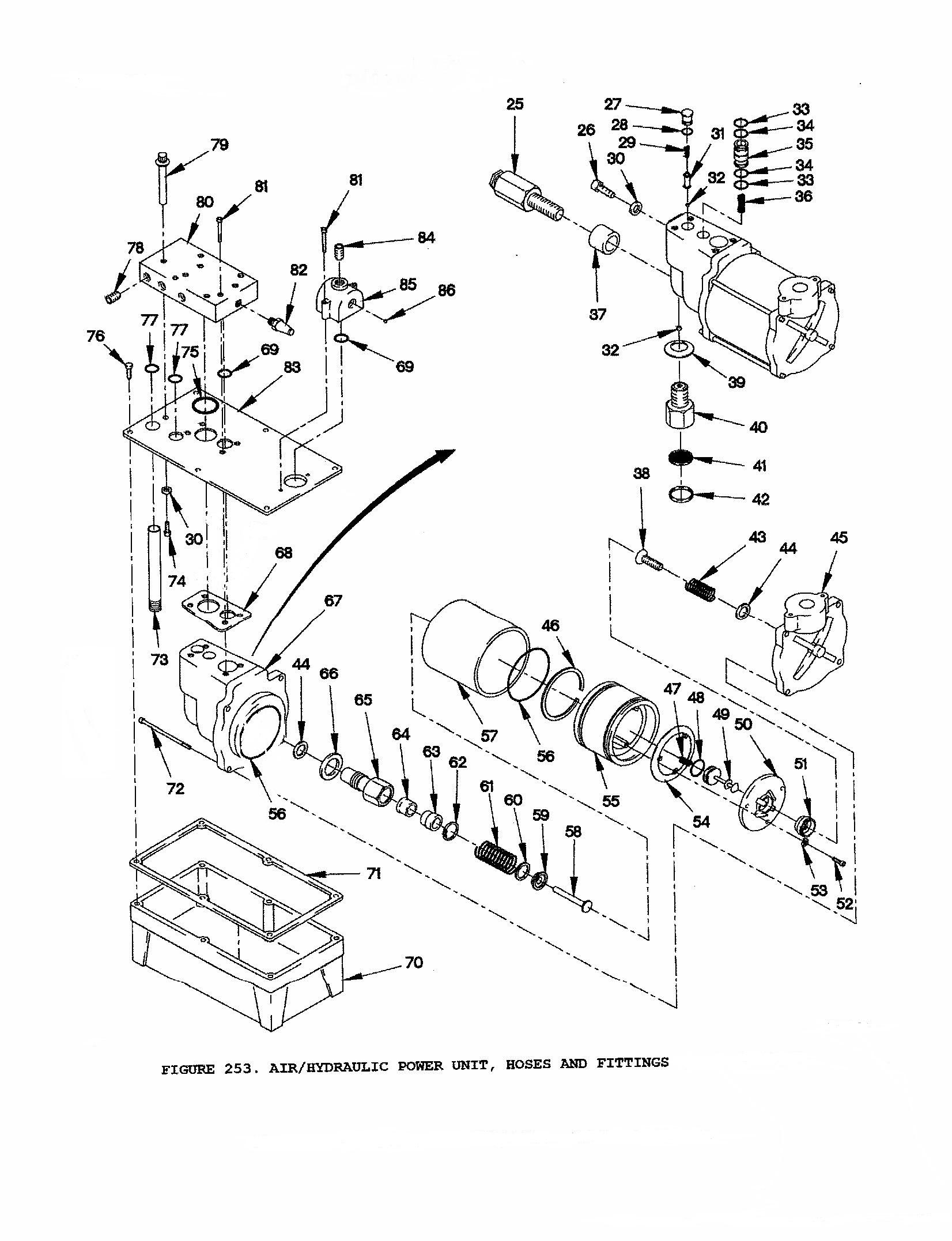 Seal Kit Air Hydraulic Cab Pump Fmtv Lmtv