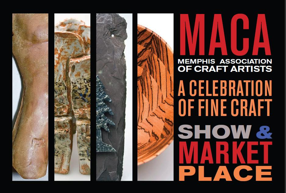 MACA show and marketplace postcard