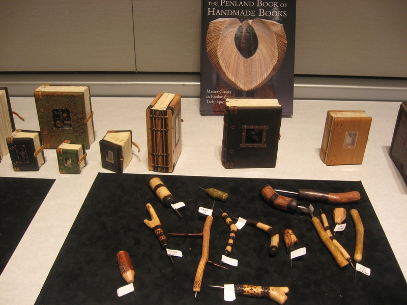 Books and Hand Carved Tools by Daniel Essig